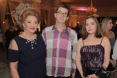 Teresa Borges, Alexandre Borba e Helene Barreira