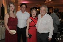 Vanessa Veras, Ricardo Torquato, Beatriz e Manoel Viana