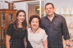 Bia Cals, Glaura Férrer e Fernando Férrer