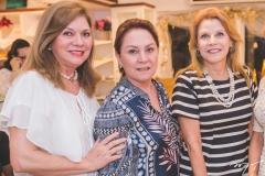 Célia Caminha, Paula Frota e Rosângela de Francesco