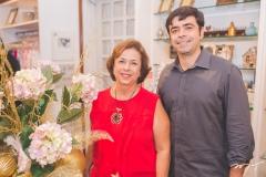 Júlia Philomeno e Eduardo Cals