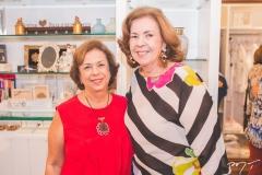 Júlia Philomeno e Vera Valente