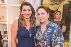 Márcia Travessoni e Paula Frota