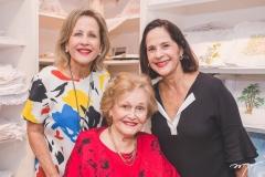 Maria Helena, Maria Alice Linhares e Cristina Miranda