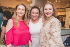 Néia Schmidt, Hueda Bastos e Fátima Oliveira