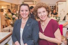 Nicolle Barbosa e Teresa Pitombeira