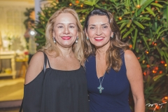 Sarah Philomeno e Márcia Travessoni