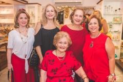 Wanda Machado, Sarah Philomeno, Maria Alice Linhares, Tita Philomeno e Júlia Philomeno