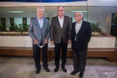 Carlos Prado, Ricardo Cavalcante e Eduardo Bezerra.