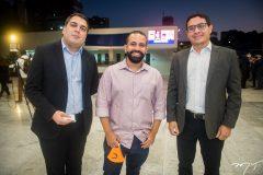 Darlan Moreira, Flávio Oliveira e Luiz Fernando.