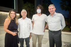 Fernanda Prado, José Walter, José Carlos e Caito Prado