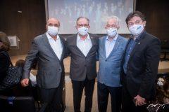 Fernando Cirino, Ricardo Cavalcante, Carlos Prado e Edgar Gadelha.