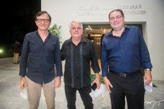 Hélio Perdigão, Antunes Mota e Roberto Ramos.