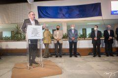 Inauguração do novo Centro Internacional de Negócios.
