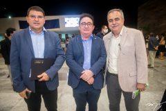 Sergio Lopes, Manuel Cardoso Linhares e Assis Cavalcante