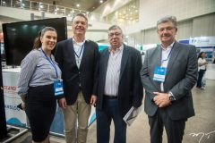 Debora Memoria, Rener Vanderplas, Maia Junior e Carlos Maia