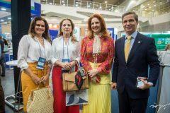 Ivana Bezerra, Ania Ribeiro, Enid Camara e Romulo Soares