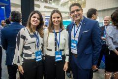 Lívia Medeiros, Taís Bertoso e Hermes Monteiro