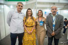 Luciano Cidrão, Adelina Feitosa, Gildenia Rocha e Paulo Guerra