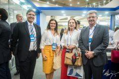 Marcos Oliveira, Ivana Bezerra, Ania Ribeiro e Calos Maia