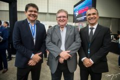 Silvio Carlos Ribeiro, Sergio Cavalcante e Eduardo Neves
