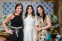 Ana Luiza Barreira, Tayra Romcy e Carolina Barreira