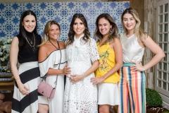 Giuliana Botelho, Vanessa Queiros, Tayra Romcy, Bia Bezerra e Mariana Pimenta