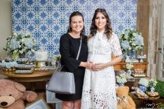 Renata Valentim e Tayra Romcy