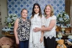 Salete Cordeiro, Tayra Romcy e Carmem Aguiar