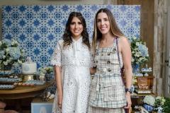 Tayra Romcy e Paula Abreu