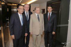 Beto Studart, Ricardo Cavalcante, Tasso Jereissati e André Siqueira