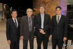 Elias Carmo, Alberto Lima, Daniel Furlani e Marcos Oliveira