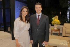 Juliana Barroso e André Siqueira