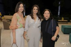 Miriam Pereira, Juliana Barroso e Nancy Abfadel