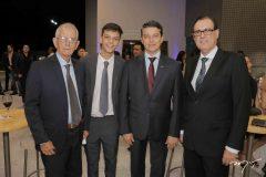 Paulo Guilherme, André Siqueira e Urbano Costa Lima