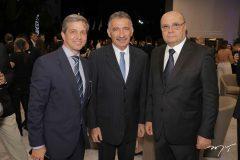 Rômulo Soárez, Artur Bruno e Fernando Cirino