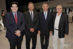 Yuri Torquato, Lauro Chaves, Artur Bruno e Antunes Mota