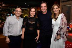 Lisandro Arrais, Gyna Machado, Alfredo e Mônica Franco