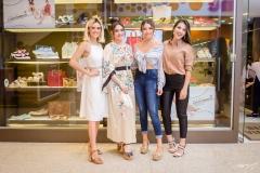 Camila Lima, Liz Arcoverde, Edith Gomes e Alyne do Vale