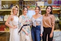 Camila Lima, Liz Arcoverde, Edite Gomes e Alyne do Vale