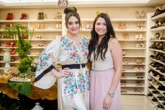 Liz Arcoverde e Myrlla Gomes