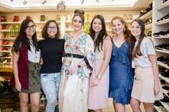 Mariana Amorim, Marina Lustosa, Liz Arcoverde, Myrlla Gomes, Rayssa Tomas e Nyara Cavalcante