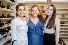 Mariana Fontenele, Rayssa Thomaz e Patricia Oliveira