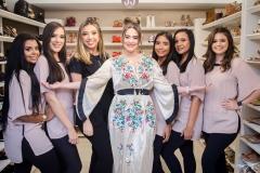 Vitoria Lustosa, Ana Chris Castro, Quezia Bastos, Liz Arcoverde, Gislaine Almeida, Cida Maria e Yanna Lima