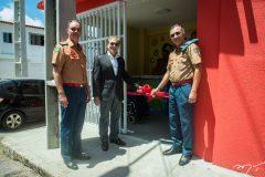 Cel. Luiz Eduardo Holanda, Otacílio Valente e Cel. Zélio Menezes