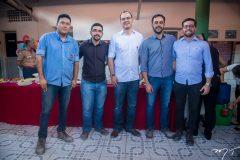 Cidney Gomes, Lucas de Oliveira, Dimitri Cysne, Tiago Parente e Davi Bezerra