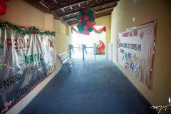 Entrega do parque infantil no colégio dos Bombeiros
