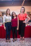 Samara Albuquerque, Claudia Soares e Daniele Holanda