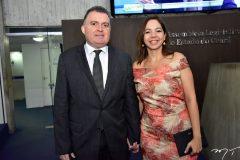 Alano Cunha e Michele Rabelo