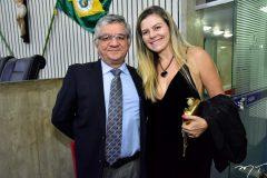 Alexandre Cialdini e Luciana Castilho